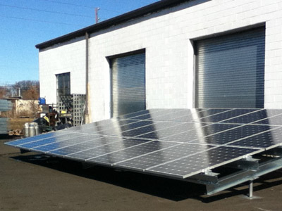 Ground Solar Mounting